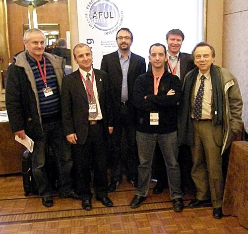 Quelques membres de l'AFUL à l'OWF