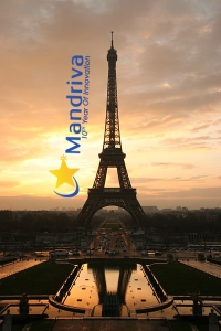 Tour Eiffel par Tristan Nito avec Logo Mandriva