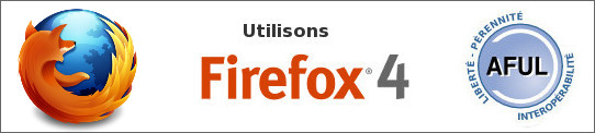Banni�re Utilisons Firefox 4